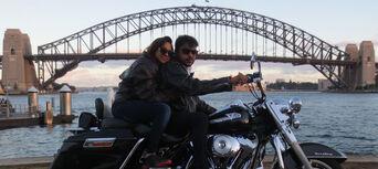 Harley Motorcycle or Chopper 4 Trike Sydney City and Bondi Tour Thumbnail 5
