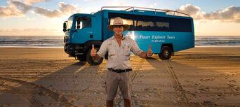 Fraser Island 2 Day Tour from Rainbow Beach Thumbnail 1