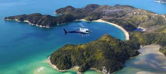 Blue Lake National Park Scenic Helicopter Flight Thumbnail 2
