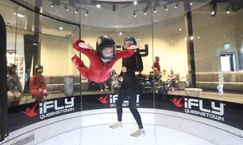 2 Flight Kickstart Indoor Skydiving Package Thumbnail 5