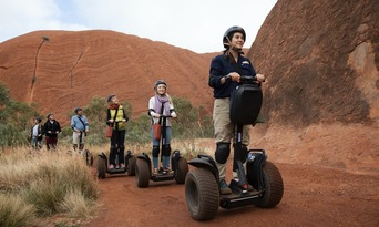 Quarter Uluru Segway and Sunset Tour Thumbnail 1