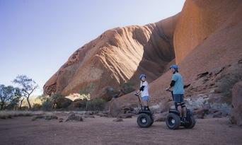Quarter Uluru Segway and Sunset Tour Thumbnail 2