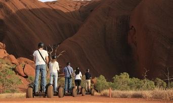 Quarter Uluru Segway and Sunset Tour Thumbnail 3