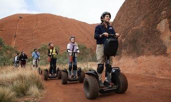 Quarter Uluru Segway and Sunset Tour Thumbnail 4