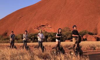 Quarter Uluru Segway and Sunset Tour Thumbnail 6