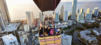 Gold Coast Hot Air Balloon Flight with BONUS photo package Thumbnail 3