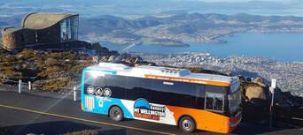 kunanyi Mt Wellington Explorer Bus 2 Hour Return Tour Thumbnail 1