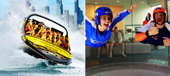 iFLY Indoor Skydiving and Jetboating Package Thumbnail 1