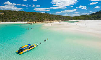 60 Minute Whitsunday Flight and Southern Lights Rafting Package Thumbnail 6