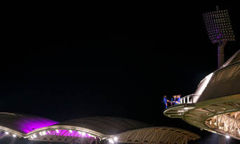 Adelaide Oval Night Roof Climb Thumbnail 3