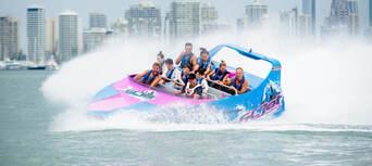 Gold Coast Tandem Parasail and Jet Boat Package Thumbnail 5