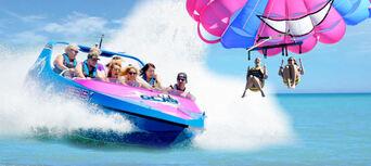 Gold Coast Tandem Parasail and Jet Boat Package Thumbnail 1