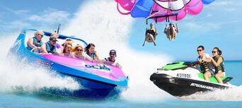 Gold Coast Parasail, Jet Boat and Jet Ski Combo Thumbnail 1
