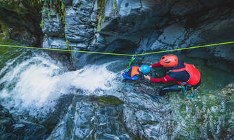 Half Day Canyoning  - Queenstown Thumbnail 2