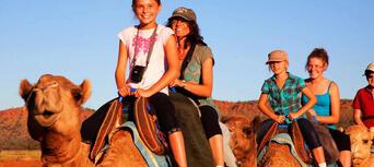 Alice Springs Sunset Camel Ride Thumbnail 3