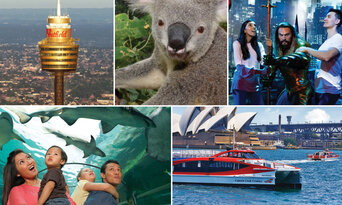 2 Day Sydney Harbour Ferry Pass + 4 Famous Attractions Thumbnail 1