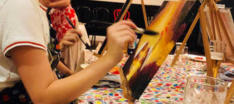 Paint and Sip Art Sessions in Brisbane Thumbnail 6