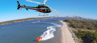 Surfers Paradise Jet Boat and Helicopter Package Thumbnail 1