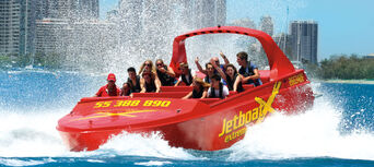 Surfers Paradise Jet Boat and Helicopter Package Thumbnail 2