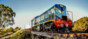 The Q Train - Q Class Lunch Departing Queenscliff Thumbnail 2