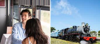 The Q Train - Q Class Lunch Departing Queenscliff Thumbnail 1