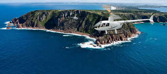 Phillip Island Cowes, Seal Rocks, Penguins & Grand Prix Circuit Helicopter Flight Thumbnail 4