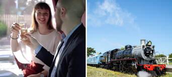 The Q Train - First Class Lunch Departing Queenscliff Thumbnail 1