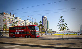SkyBus Tullamarine Airport to Southbank or Docklands Thumbnail 1