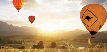 Gold Coast Hot Air Balloon Flight with Breakfast and FREE Photo Thumbnail 1