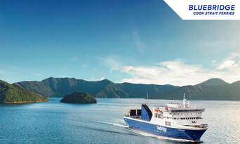 Wellington to and from Picton Bluebridge Cook Strait Ferries Crossing Thumbnail 1