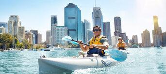 Kayaking Paddle And Grazing Platter Experience Thumbnail 1