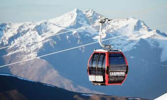 Winter Sightseeing Alpine Gondola Ride Thumbnail 1
