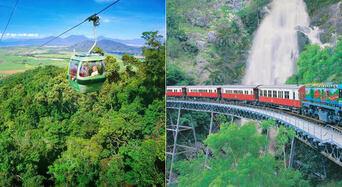 Kuranda Scenic Railway + Skyrail Rainforest Cableway Thumbnail 1