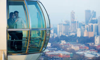 Melbourne Star Observation Wheel Private Cabin Thumbnail 6
