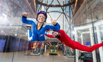 iFLY Brisbane Indoor Skydiving - Airborne Thumbnail 6