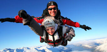 Queenstown Tandem Skydive 12,000ft Thumbnail 1