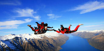 Queenstown Tandem Skydive 12,000ft Thumbnail 2