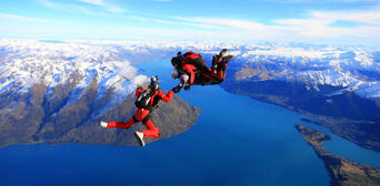 Queenstown Tandem Skydive 12,000ft Thumbnail 4