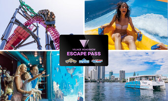 3 Day Theme Park Pass over 5 Days + BONUS All Day Ferry Pass Thumbnail 1