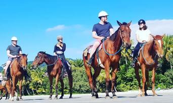 Afternoon Beach Horse Ride Thumbnail 3