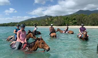 Afternoon Beach Horse Ride Thumbnail 1