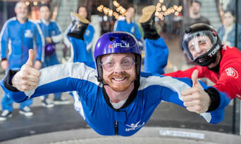 iFLY Brisbane Indoor Skydiving - 360 Virtual Reality Experience Thumbnail 6