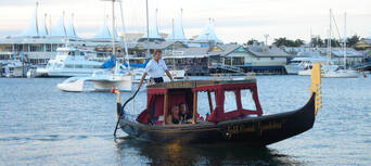 Gold Coast Romantic Gondola Cruise for Two Thumbnail 2
