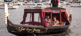 Gold Coast Romantic Gondola Cruise for Two Thumbnail 1