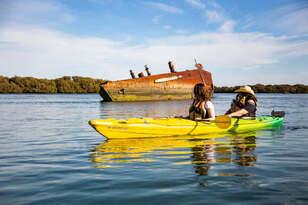 Dolphin Sanctuary Kayaking Tour Thumbnail 1