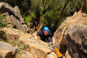 Full Day Rock Climbing and Abseiling Adventure Thumbnail 2