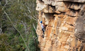 Full Day Rock Climbing and Abseiling Adventure Thumbnail 3