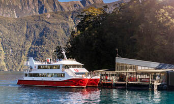 Milford Sound Cruise with Underwater Observatory Thumbnail 2
