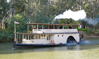 Murray River Paddlesteamers 1 Hour Sightseeing Cruise Thumbnail 1