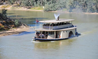 Murray River Paddlesteamers 1 Hour Sightseeing Cruise Thumbnail 2